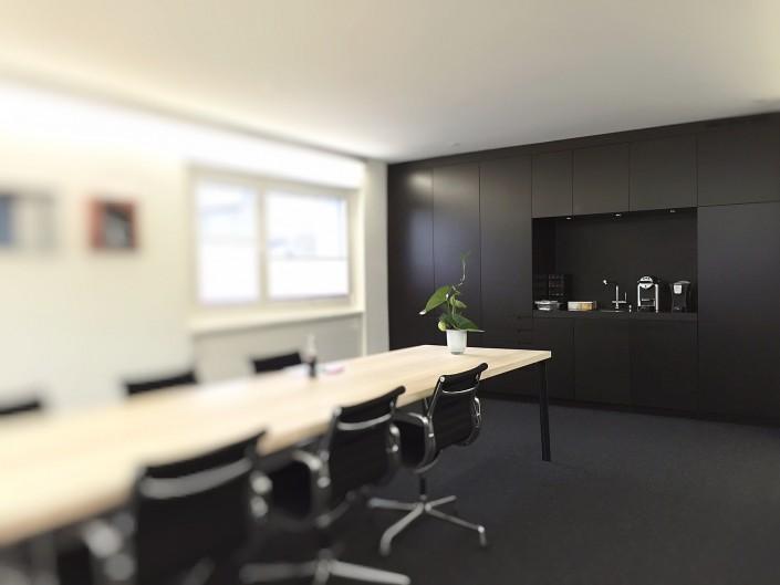 Neugestaltung Besprechungszimmer